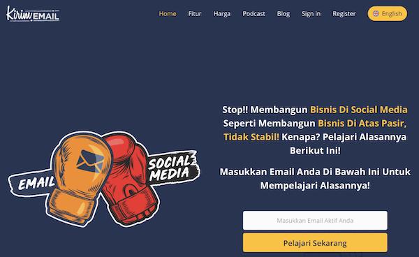 Website Kirim.email